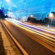 Light trails — Stock fotografie