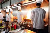 中国厨师 — 图库照片