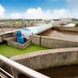 Stock fotografie: Sewage treatment plant