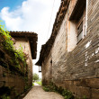 chinese ancient buildings: alley — Stock Photo