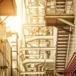 Internal thermal power plant — Stock Photo