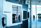 Airport Payphone — Stockfoto