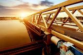 Impianto di trattamento delle acque reflue — Foto Stock