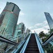 Stock Photo: Escalator of Shanghai streets