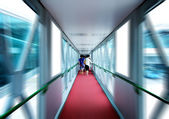 Boarding bridge — Stock Photo