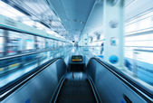 Passengers in subway stations — Stock Photo