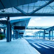 Shanghai Pudong Airport road — Stock Photo #32243903
