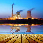 Thermal power plant — Foto de Stock