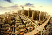 Aerial city — Stock Photo