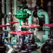 Metal valves — Stockfoto