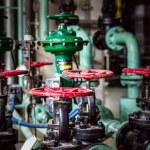 Metal valves — Stock Photo