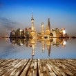 Stock Photo: The Bund in Shanghai