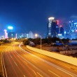 China Shenzhen night — Stockfoto