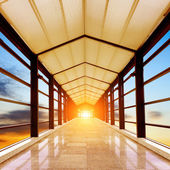 Air corridor — Stock Photo