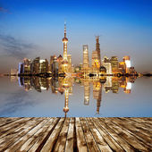 The Bund in Shanghai — Stock Photo