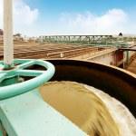 Sewage treatment plant — Stock Photo #34354405