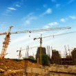 Construction site for new condominiums — Foto de Stock