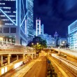 Stock Photo: Modern city at night