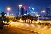 China Shenzhen night — Stock Photo