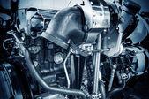 автомобильный двигатель — Стоковое фото