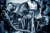 Automotive engine — Stockfoto
