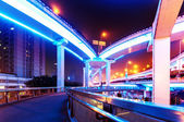 Shanghai viaduct — Stock Photo