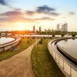 Sewage treatment plant — Stockfoto #37040705