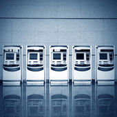 Automatic ticket vending machines — Stock Photo