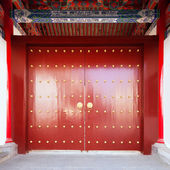 Chinese classical style doors — Stock Photo