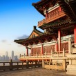 Chinese ancient buildings of local — Stock Photo #38383767