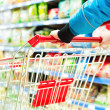 Stock Photo: Supermarket cart