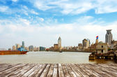 China Shanghai the Bund — Stock Photo