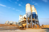 Cement factory machinery — Stockfoto