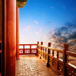 Chinese ancient buildings of local — Stock Photo #38703509