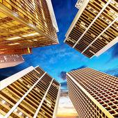 在香港的体系结构 — 图库照片