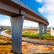 Stock Photo: Highway and viaduct