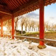 Stock Photo: Chinese classical architecture: gallery