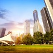 Parks and modern architecture — Stock Photo #41038561