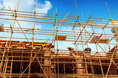 Construction site for new condominiums — Stock Photo