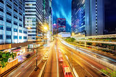 China Shenzhen night — Stock Photo
