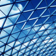 Transparent glass ceiling — Stock Photo