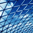 Stock Photo: Transparent glass ceiling