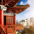 Chinese ancient buildings — Stock Photo