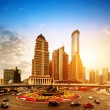 Shanghai Pudong financial district — Stock Photo #42244105