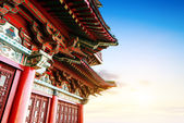 Chinese ancient architecture — 图库照片