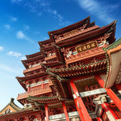 Chinese ancient architecture — Foto de Stock