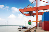 Large Container Terminal — Photo