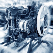 Automotive engine — Stock Photo