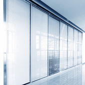 Glass sliding doors — Stock Photo