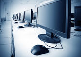 Laboratório de informática — Foto Stock